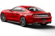 Ford Mustang mit Beifahrer-Knie-Airbag
