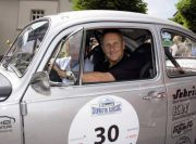 Klassiker mit E-Antrieb auf Rallyekurs