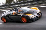 Bugatti Veyron fährt Geschwindigkeits-Weltrekord