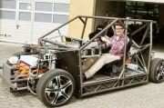 Forscher der TU Braunschweig entwickeln E-Auto mit 441 kW