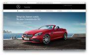 Mercedes-Benz startet Kampagne für vier Traumwagen