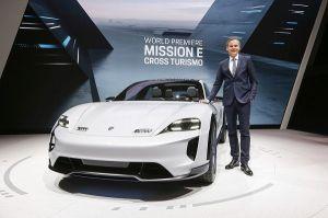 Porsches Cross Turismo mobilisiert über 600-Elektro-PS